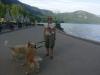 Mit Anna Maria und Bonnie am Alpsee Hochenschwangau
