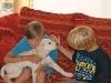 Drago mit Felix und Florian