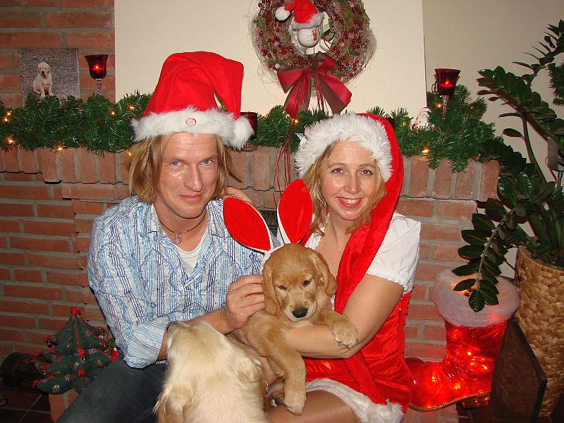Crazy am Weihnachtsfest