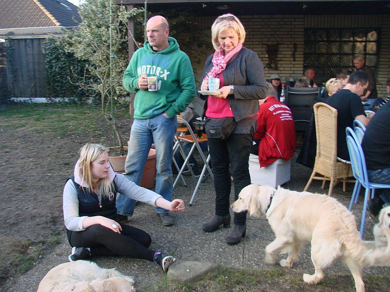 Daphne mit Familie