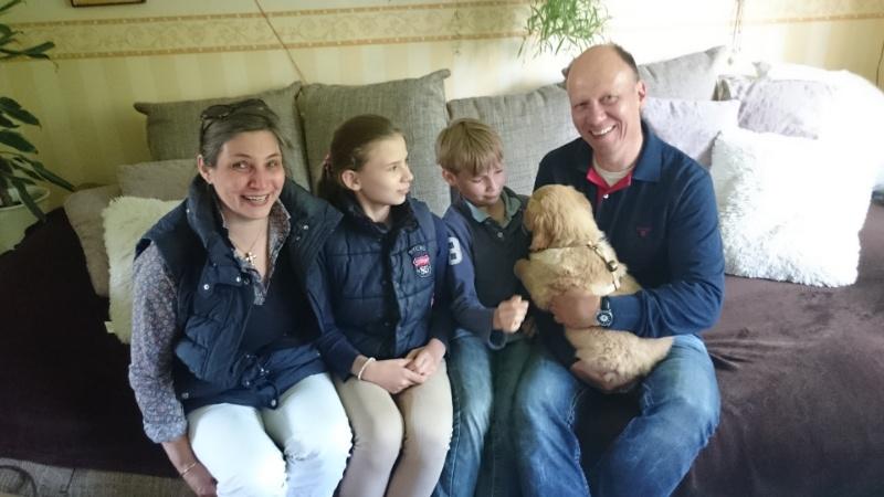 Familie Wallek mit ihrem Giant