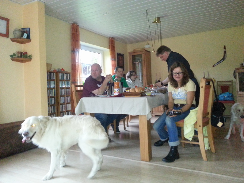 Brunch bei Familie Groth